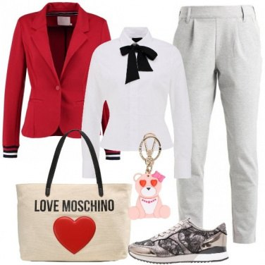 Outfit Cuore sportivo