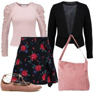 Outfit Ballerine con i lacci