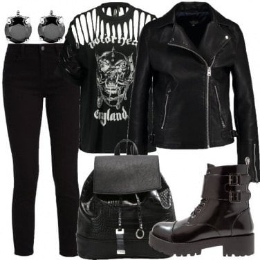Outfit Musica rock