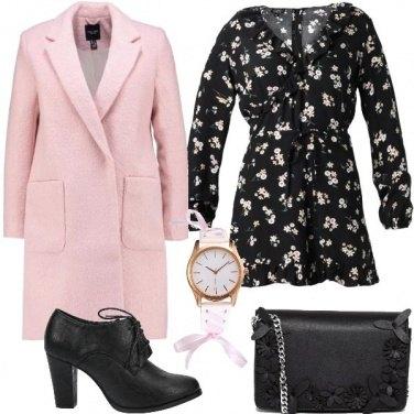 Outfit La playsuit floreale