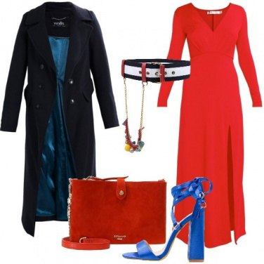 Outfit Un party in rosso