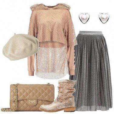 Outfit Moderna romantica