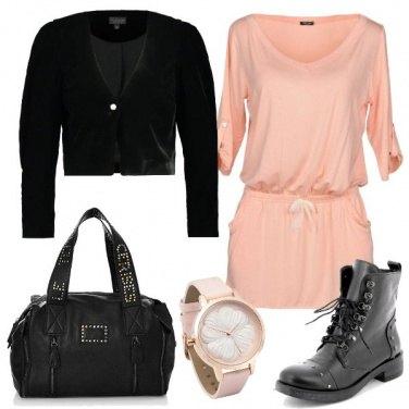 Outfit Vestito e stivaletti