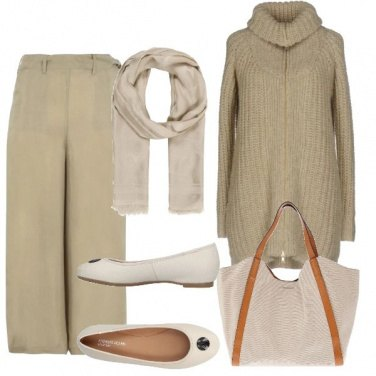 Outfit Minimal in beige