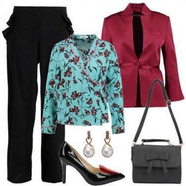 Outfit I pantaloni neri