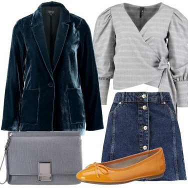 Outfit Gonna in denim