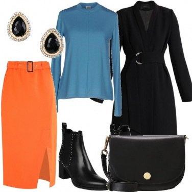 Outfit Come abbinare l'arancione