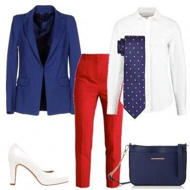 Outfit La cravatta a pois
