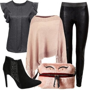 Outfit Top in lurex