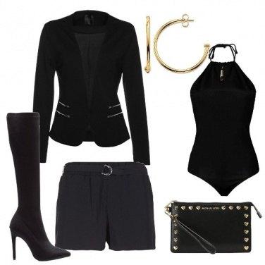 Outfit Il nero della notte