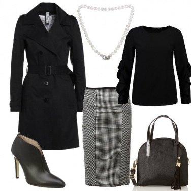 Outfit Quadretti chic