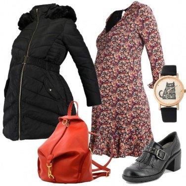 Outfit Fiorellini sulla pancia