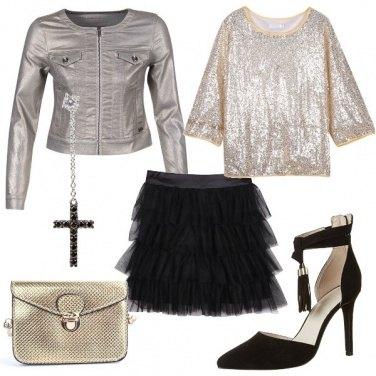 Outfit La mia croce nera