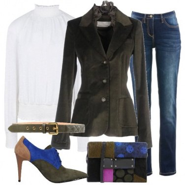 Outfit Trendy patchwork