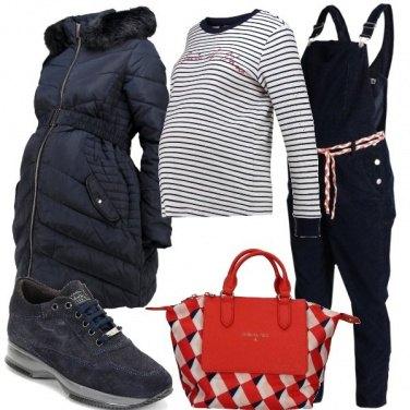 Outfit La salopette premaman