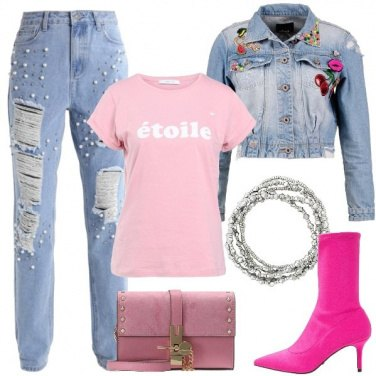 Outfit In pista