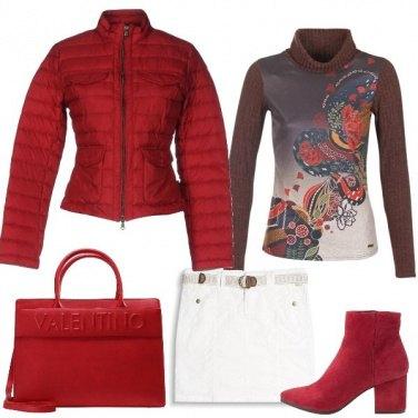 Outfit Il rosso che conquista