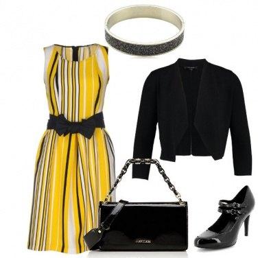 Outfit Voglia di giallo
