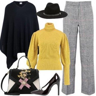 Outfit Chic con il freddo