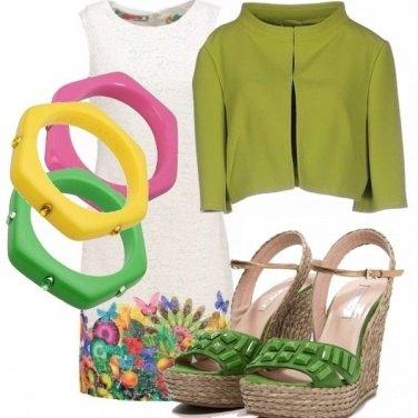 Outfit Giallo, verde, rosa, arancio...