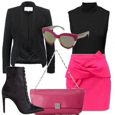 Outfit Minigonna annodata