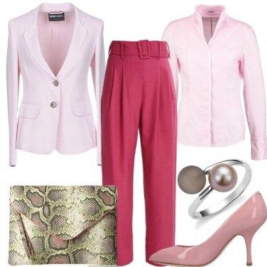 Outfit Il rosa per tutto il giorno