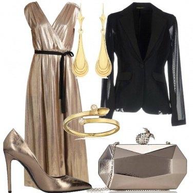 Outfit Risplendo d\'oro