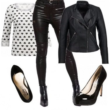 Outfit Un week end in moto