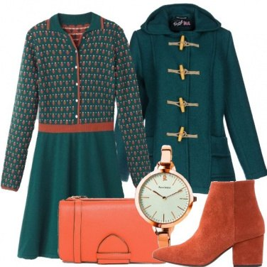 Outfit Abitino in lana