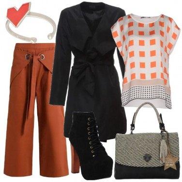 Outfit Stivaletti con plateau