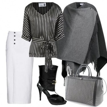 Outfit Righe verticali