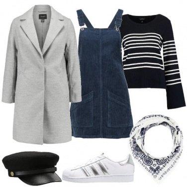 Outfit La gonna salopette