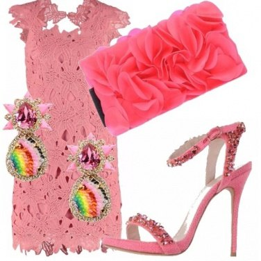 Outfit Total pink!