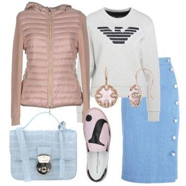 Outfit Trendy nei toni pastello