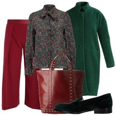 Outfit Trendy in due colori