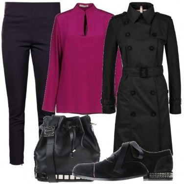 Outfit Mannish quanto basta