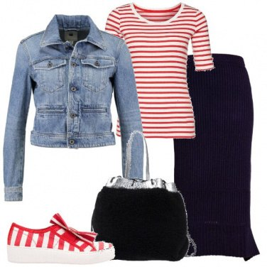Outfit Outfit Trendy #1069-2018