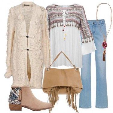Outfit La tunica folk