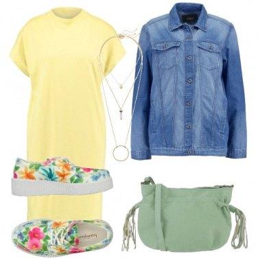 Outfit Delicatezza nei colori