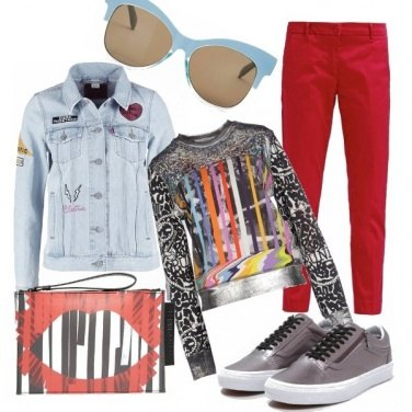 Outfit Urban graffiti