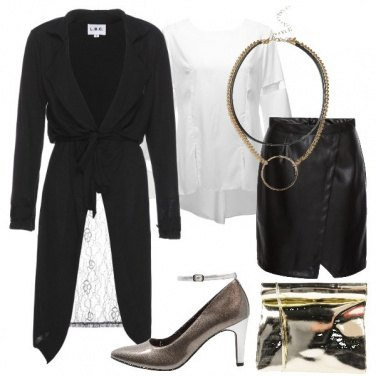 Outfit Trench con pizzo
