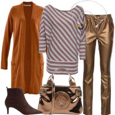 Outfit Abbinamenti con il bronzo