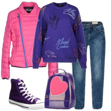 Outfit Viola casual