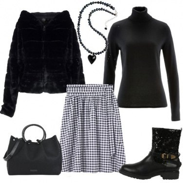 Outfit Il mio cuore rock