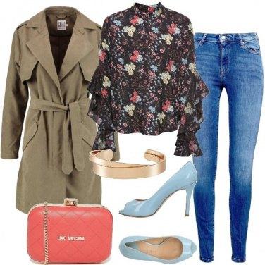 Outfit Jeans e tacchi