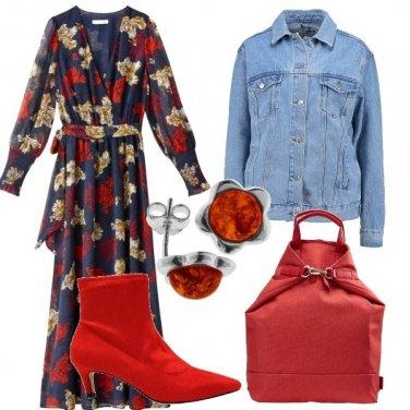 Outfit Vestito a fiori