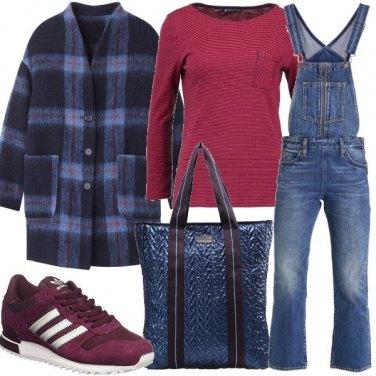 Outfit La salopette jeans