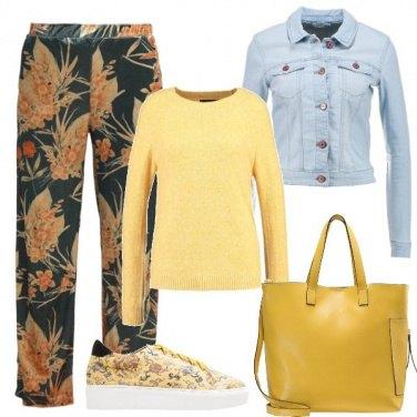 Outfit La borsa gialla