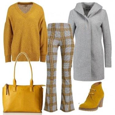Outfit I pantaloni a quadri