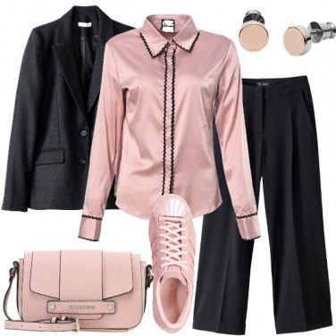 Outfit Le sneakers rosa